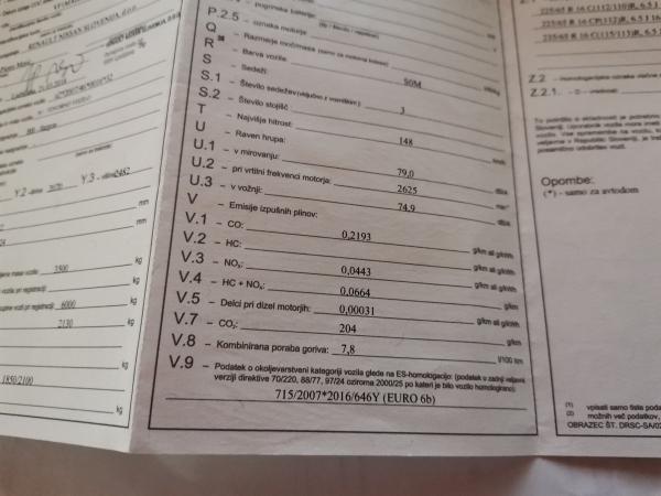 RENAULT MASTER 2.3 DCI-HLADILNIK+ZUNANJI PRIKLOP